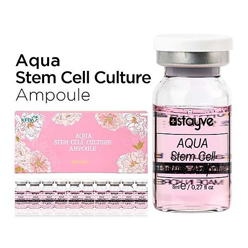 Stayve Aqua Stem Cell Culture Ampoule |product box | bb glow academy