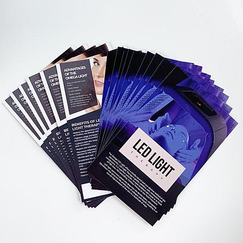 LED Light 50 Brochures| bb glow marketing | bb glow academy