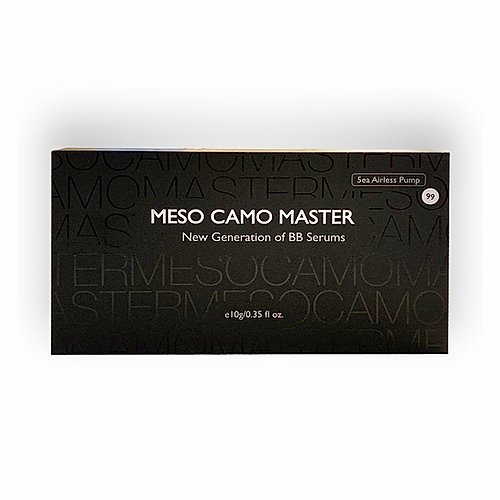 Meso Camo Master Pigments| product box bb glow treatment | bb glow academy