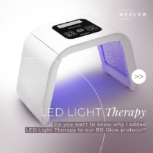 Led Light Therapy machine | bb glow academy