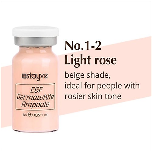 Stayve Pigments light rose Product box| bb glow academy